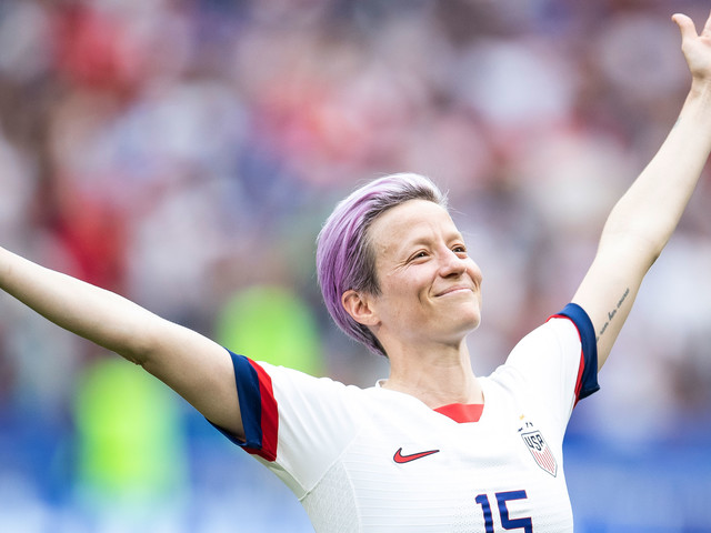 Are Murder Podcasts The Key To Megan Rapinoe's Success?