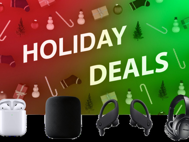 Last-Minute Holiday Deals on Audio Products Include $200 HomePod and Powerbeats Pro