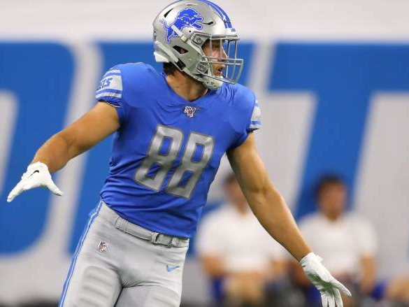 T.J. Hockenson Injury Update: Lions TE Looking Better for Monday