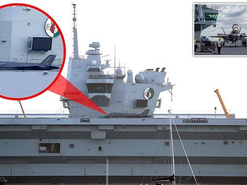 State-of-the-art supersonic jet set to take off from £3.1bn aircraft carrier HMS Queen Elizabeth