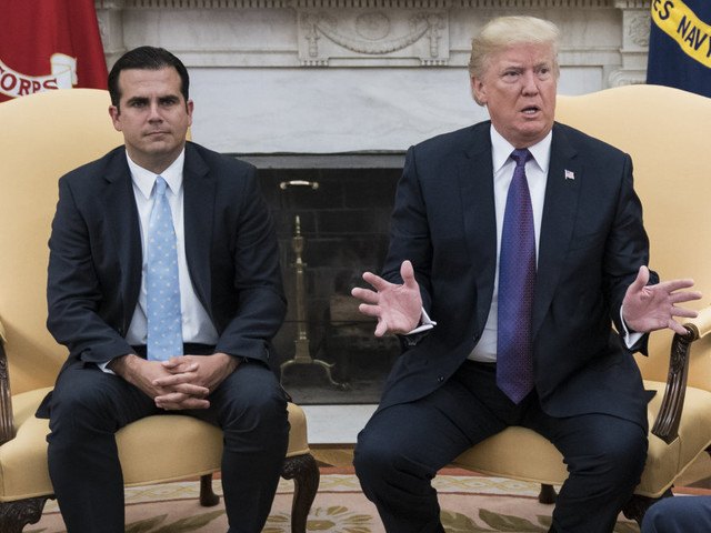 Puerto Rico's governor warns Trump: 'If the bully gets close, I'll punch the bully in the mouth'