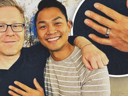 Anthony Rapp of Rent and Star Trek: Discovery gets engaged to longtime love Ken Ithiphol
