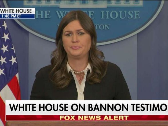 Sarah Sanders at White House Press Briefing on Trump-Russia Collusion Investigations