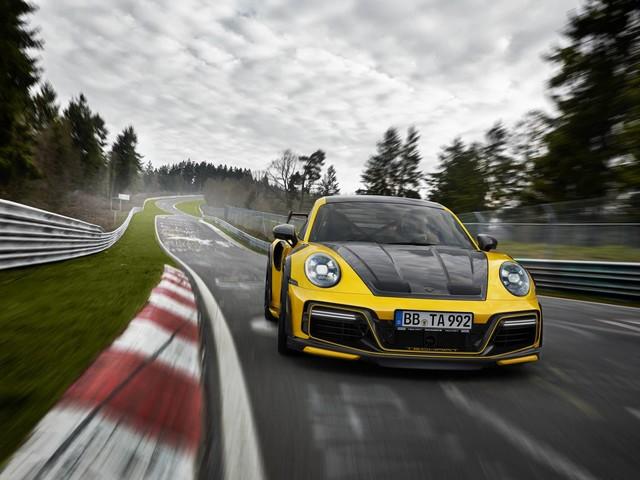 Porsche 911 Turbo St GT Street R by TechArt - The Porsche 911 Unhinged