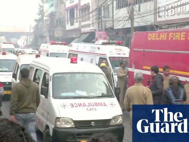 Delhi fire: at least 43 dead in 'horrific' factory blaze