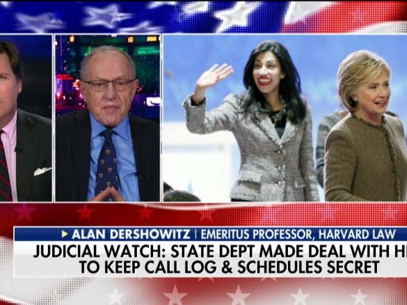 Judicial Watch: State Dept Struck Deal With Clinton, Abedin to Keep Call Logs, Schedules Secret