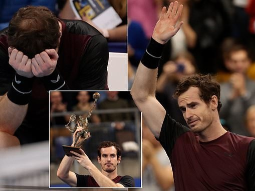 Andy Murray marks fairytale comeback by claiming first singles title since hip surgery