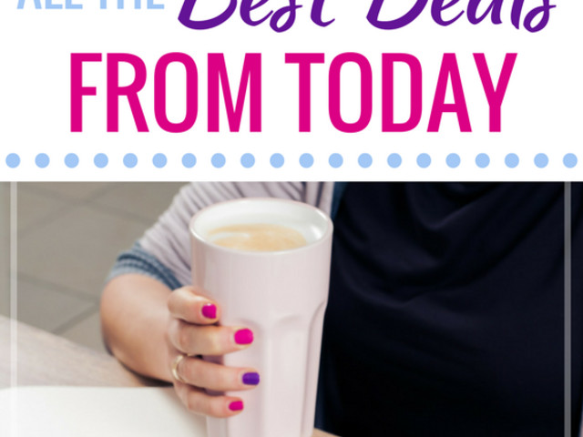 Money Saving Mom's Daily Deal Round-Up for October 17, 2017