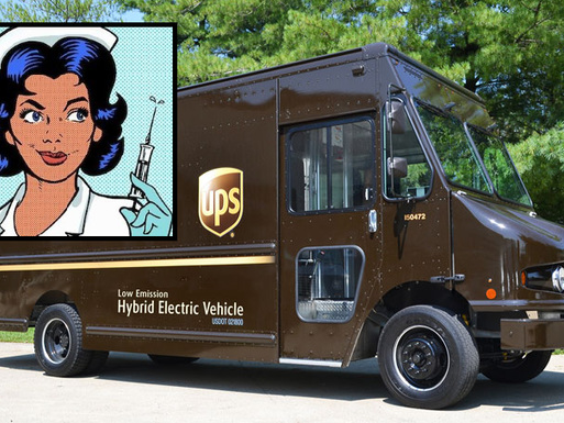 UPS To Send Nurses For In-Home Vaccinations