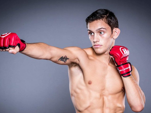 Brennan, born in 2000, somehow already made it to Bellator