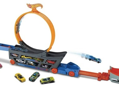 Hot Wheels Stunt & Go Track Set only $12.99!