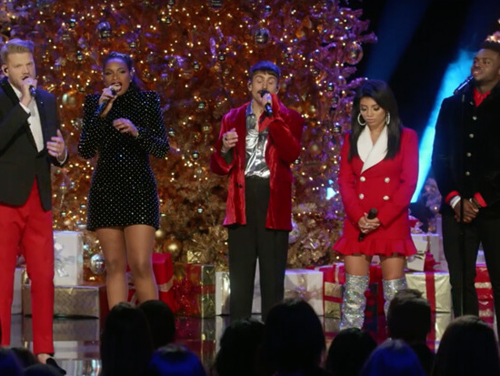 "Christmas Miracle: Pentatonix & Jennifer Hudson Perform ""How Great Thou Art"""