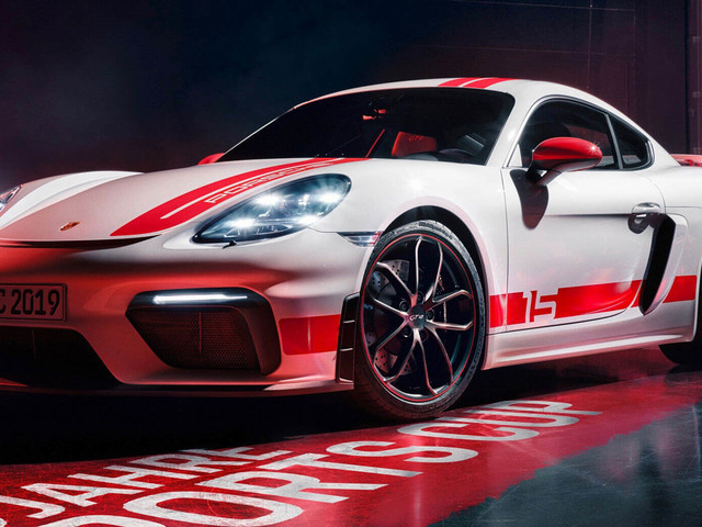 New 718 Cayman GT4 Sports Cup Edition Celebrates Porsche's German Racing Series