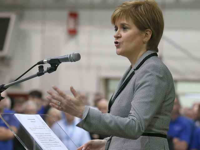 Nicola Sturgeon 'Will Scrap Public Sector Pay Cap' In Scotland