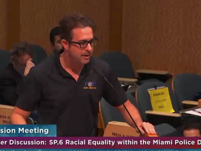 Former police union president now identifies as transracial, claims he feels black