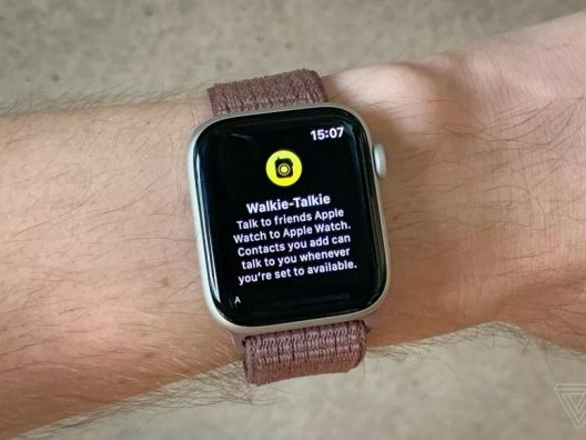 Apple Watch Walkie-Talkie App Disabled