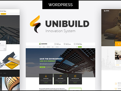 Unibuild | Technology Companies and Business WordPress Theme (Business)