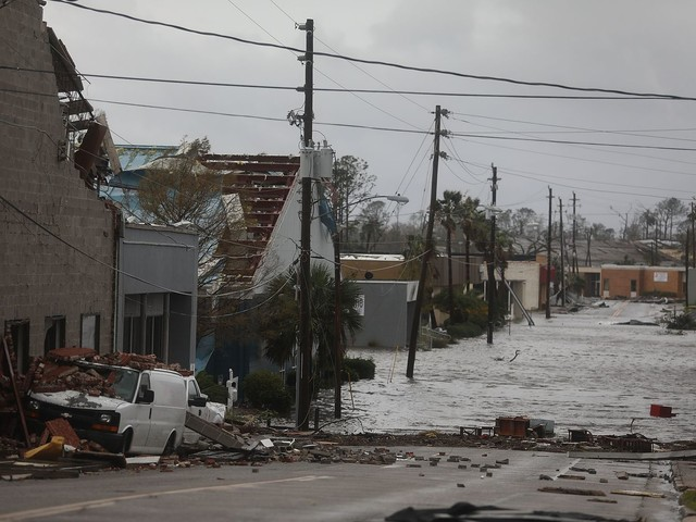 Hurricane Michael leaves path of destruction in Florida counties with older housing, mobile homes