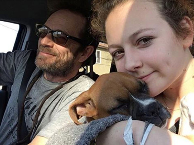 Luke Perry's daughter says she misses him 'a little extra today' in emotional post
