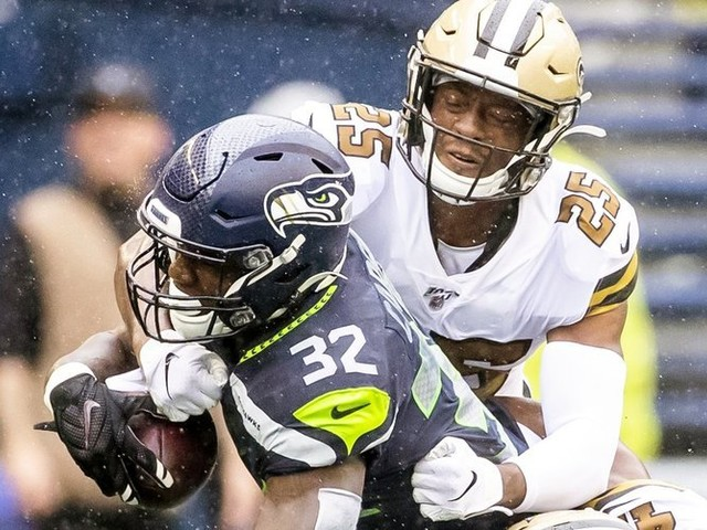 'He has to fix this': Seahawks' Chris Carson again under microscope after 3rd lost fumble in 3 games
