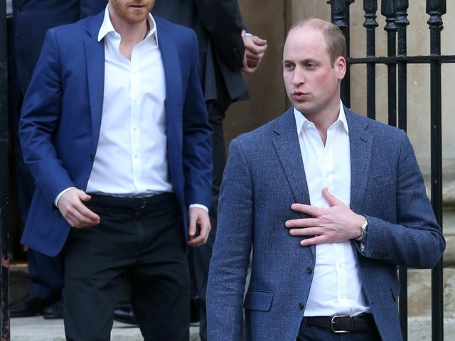 Prince William & Harry had a falling out over Meghan back in 2016