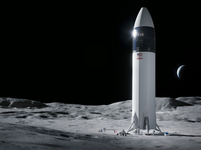 NASA puts SpaceX's lunar lander contract on hold following Blue Origin's lawsuit