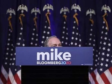 All Eyes On Bloomberg As Vegas Debate Marks First Clash With Candidates