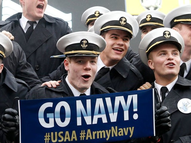 Cadets accused of flashing 'white power' symbol at Army-Navy game, prompting investigation