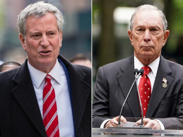 De Blasio says 'no way' billionaire Bloomberg should be Dem nominee
