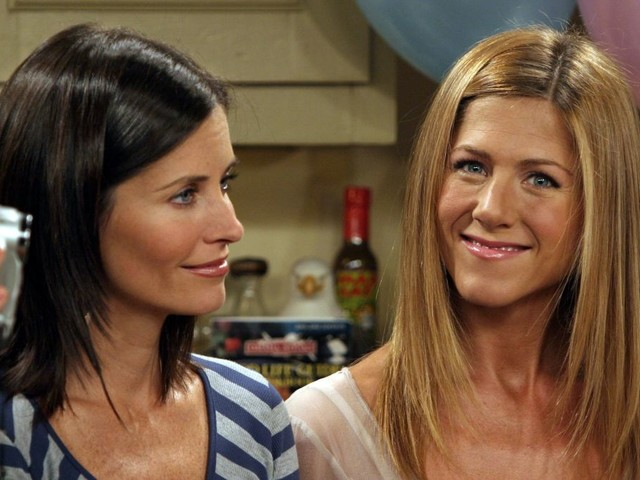 Jennifer Aniston makes her Instagram presence known with a Friends reunion photo