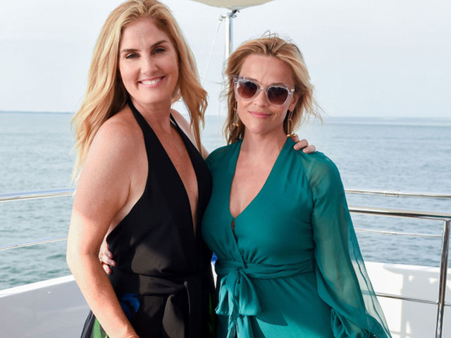 Reese Witherspoon Hops on Yacht to Celebrate Launch of FWRD X Haney!