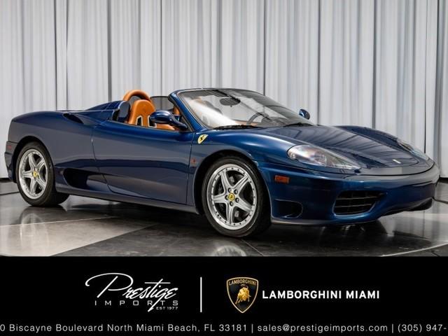 2004 Ferrari 360--Modena Spider