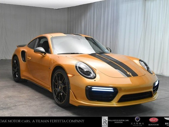 2018 Porsche 911--Turbo--S--Exclusive--Series