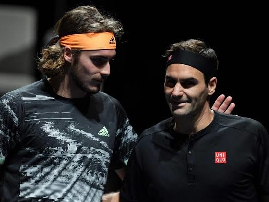 """""""Roger Federer has a Very Difficult Style to Copy"""": Stefanos Tsitsipas"""