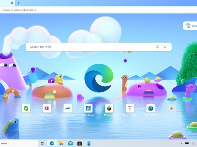 Microsoft Edge Browser Gets A Kids Mode