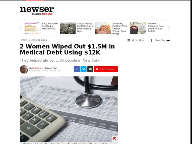 2 Women Wiped Out $1.5M in Medical Debt Using $12K
