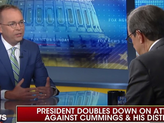 Chris Wallace and Mick Mulvaney get heated over Trump tweets: 'The worst kind of racial stereotype'