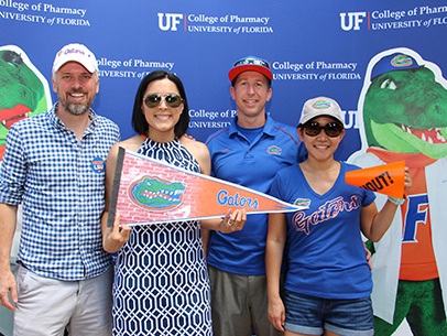 32nd Annual Alumni BBQ precedes UF's thrilling win over LSU