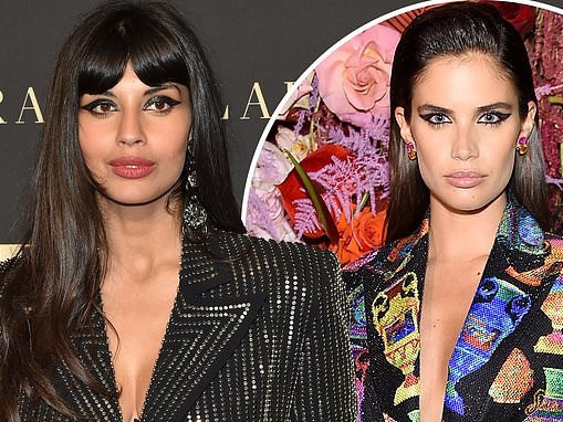 Jameela Jamil and Sara Sampaio engage in a Twitter feud over modeling and body positivity