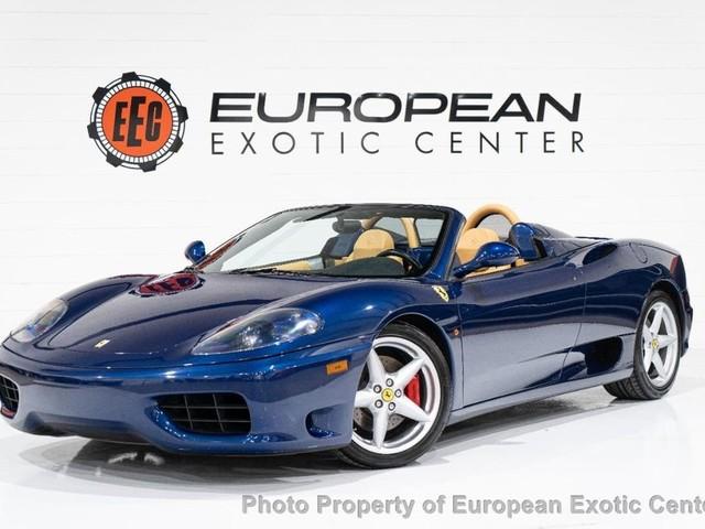2005 Ferrari 360--Spider 2dr Convertible Spider