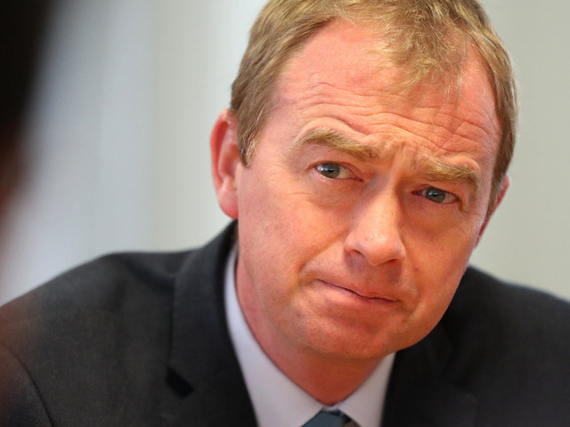 Tim Farron Bans Ex-Lib Dem MP David Ward From Standing In Election Over Anti-Semitism Row