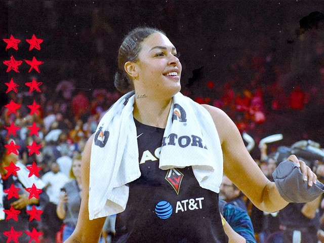 Hopefully Liz Cambage never stops trash talking
