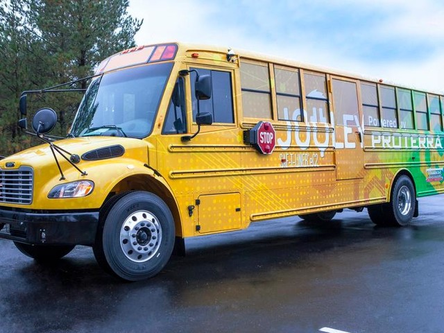 Thomas Built Buses Delivers 50th Proterra Powered Electric School Bus