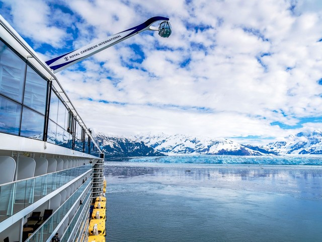 First look: Ovation of the Seas visits Alaska glaciers
