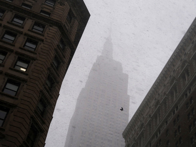 National Guard on standby as winter storm arrives in New York