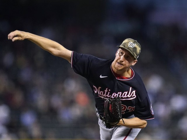 Erick Fedde puts pressure on Nationals to remain in rotation