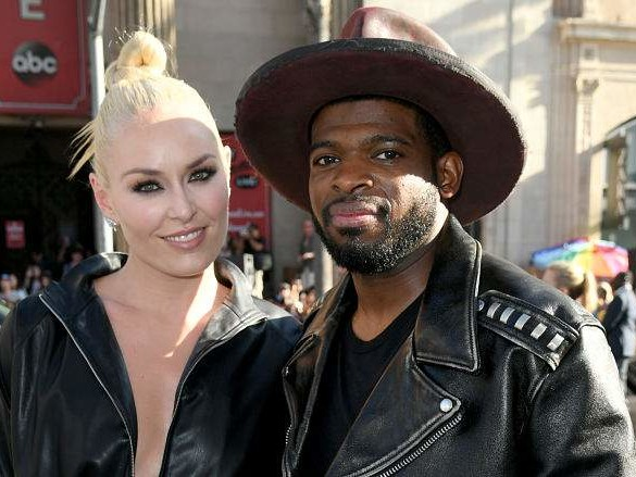 Lindsey Vonn & PK Subban Are Engaged: He Proposed With an Emerald Ring