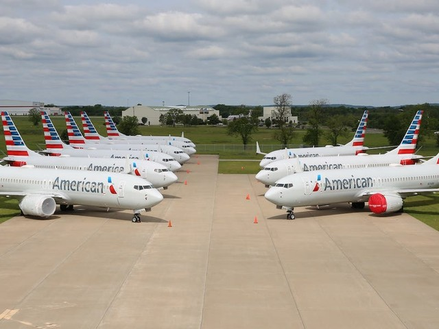 American Airlines just cancelled Boeing 737 Max flights until April, as Boeing's timeline for the jet's return is thrown into further doubt (AAL, BA)
