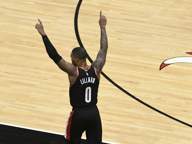 Blazers' Damian Lillard Surpasses Kobe Bryant, Moves Closer to Michael Jordan in Spectacular NBA Record
