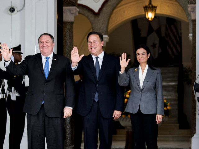 Mike Pompeo Warns Panama Against Doing Business With China